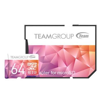 TEAM Colour Card II Micro SDHC UHS-1 U3 64G 90/45 R/W
