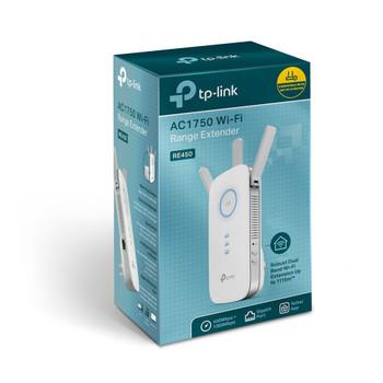 TP-Link AC1750 Wi-Fi Range Extender, Gigabit Ethernet Port,ant (3), 3yr