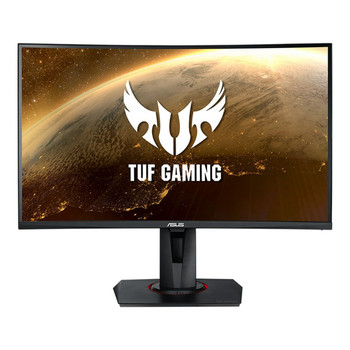 "Asus TUF Gaming VG27WQ 27"" WQHD IPS Curved Gaming Monitor 2560x1440, 1ms, 165hz, 3000:1, DP, HDMI, Spk, H/adj, 3yr Wty"