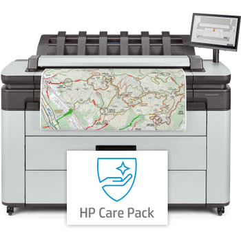 HP DesignJet XL 3600dr 36-in Multifunction PostScript Printer + 5 Year Support Install Channel Kit