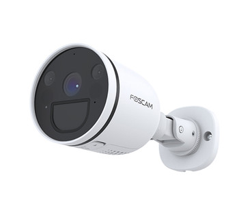 Foscam 2K Bullet Camera with Spot Light & Pir Wi-Fi - White