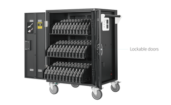 25Kg+ Freight Rate-36 bays, tablets, laptops & Chromebooks Charge Cart