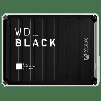 WD BLACK P10 GAME DRIVE FOR XBOX 1TB BLACK TOP W/WHITE BOTTOM