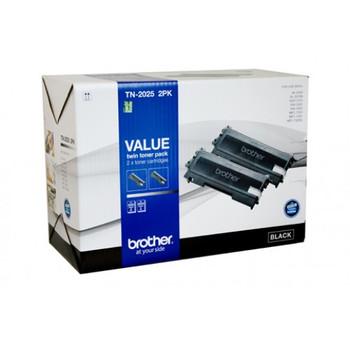 Brother TN-2025 Toner Cartridge Twin Pack