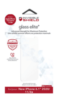 InvisibleShield Glass Elite+ Apple iPhone 12 / 12 Pro Screen Protector