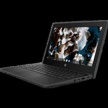 """HP Chromebook 11 EE G9, 11.6"""" HD, Celeron N4500, 4GB, 32GB eMMC, Chrome64, Jet Black, 1Yr RTB Warranty"""