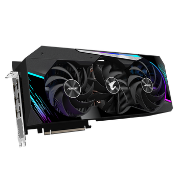 NVIDIA 2nd Gen RT Cores, 3rd Gen Tensor Cores, GeForce RTX 3090, 24GB GDDR6X 384-bit memory interface, MAX-COVERED cooling, LCD Edge View, RGB Fusion