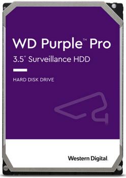 WD Purple Pro, 12TB,256 Cache, 3.5 Form Factor, SATA Interface, 5 year Warranty