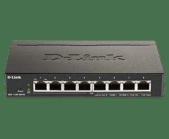 D-Link 8-Port Gigabit PoE Smart Managed Switch