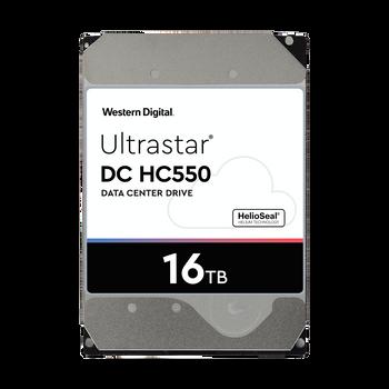 WD Ultrastar DC HC550 3.5in 26.1mm 16TB 512MB 7200rpm Sata Drive