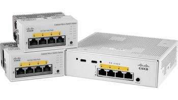 Cisco (cmicr-4pc) Catalyst Micro Switch , 1 X Copper + 1 Sfp