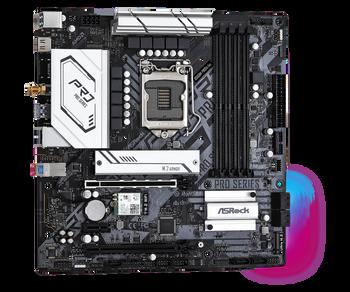 ASRock B560M Pro4/ac+ Intel LGA 1200 MATX Motherboard