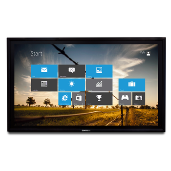 """Commbox (CBIC98) 98"""" 4K UHD Interactive Classic Display (v3), 20-pt Touch, Android 8.0, 5"""