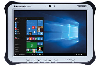"Panasonic Toughbook FZ-G1 (10.1"") MK5, 8GB, 128GB, Rear Cam, 4G, DPT (Upper: WWAN, Lower: GPS on WWAN), LAN"