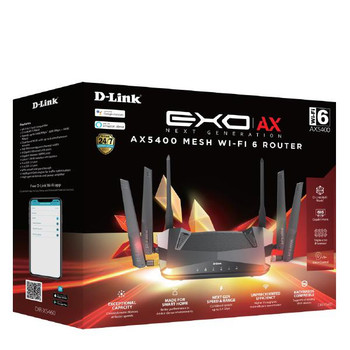 D-Link EXO AX AX5400 Mesh Wi-Fi 6 Router