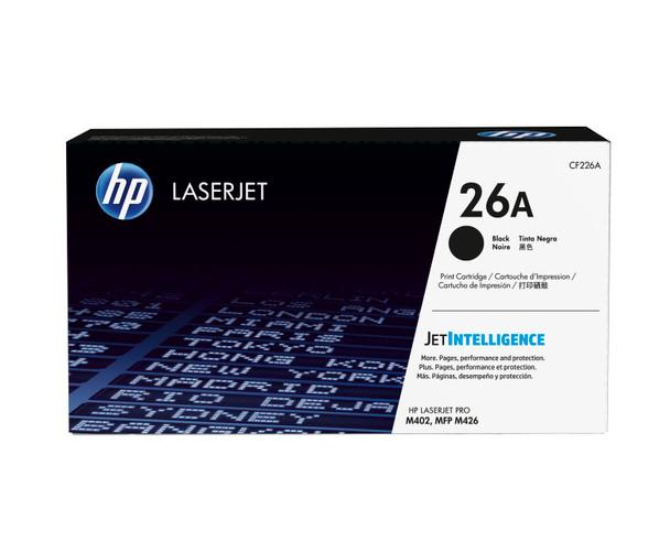 HP 26A (CF226A) LaserJet M402/M426 Standard Yield Black Toner Cartridge