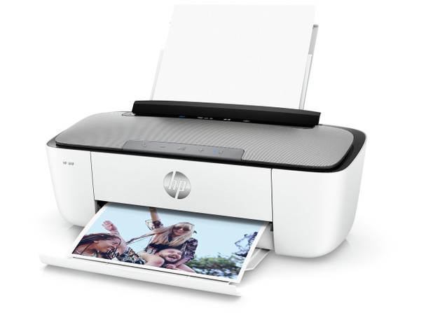HP AMP Bluetooth Speaker Printer (White)