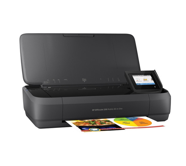 HP OfficeJet 250 All-in-One Mobile Printer