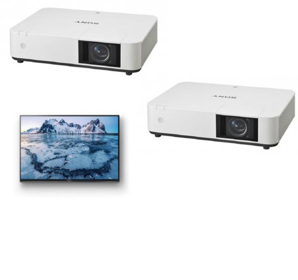 Sony PHZ10- Venue, Laser, 5000 Lumens/3LCD/ WUXGA, HDMI / VGA / 2 x USB  (Type A& B) /RS-232 /VIDEO IN, LAN Control,HDBASET** FREE SONY BRAVIA 32
