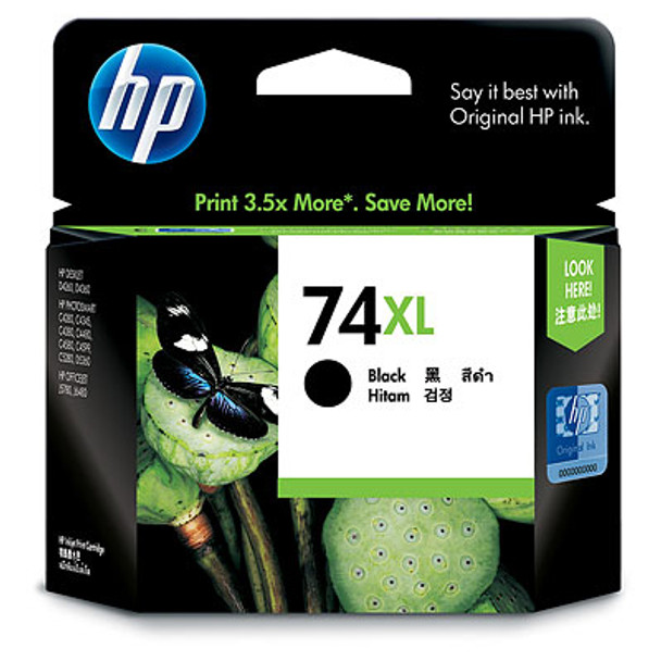 HP 74 XL BLACK INK CARTRIDGE