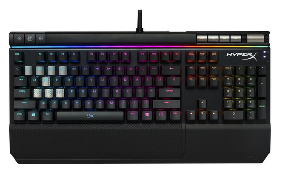 HyperX Alloy Elite Mechanical Gaming Keyboard - Cherry MX Brown, RGB LED