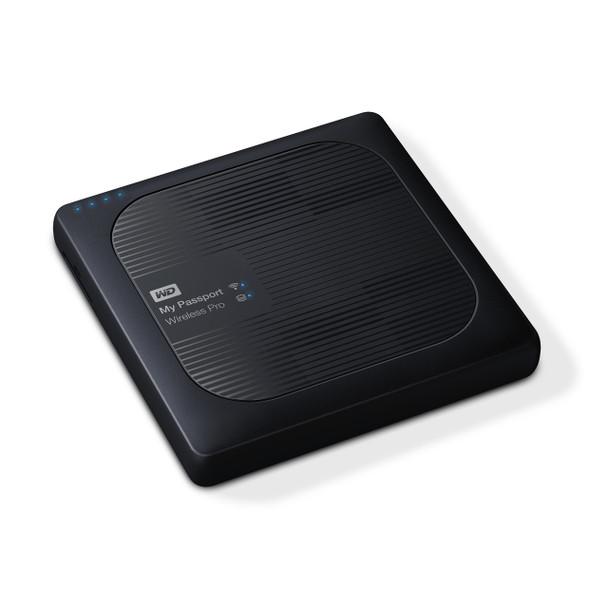 My Passport Wireless Pro 2TB Wi-Fi mobile storage, USB3.0, Wireless AC, SD Card slot,PowerBank - Black