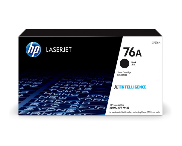 HP 76A (CF276A) LaserJet M404/M428 Standard Yield Black Toner Cartridge