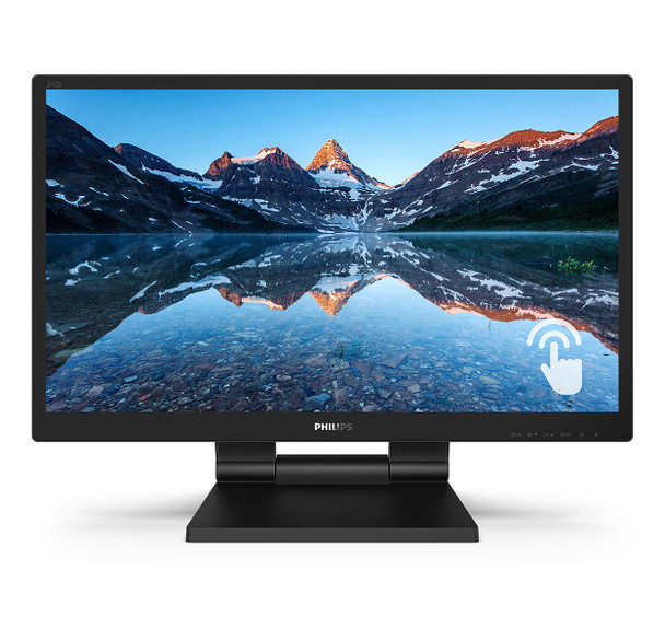 """Philips 23.8"""" FHD IPS 10 Point Touch Monitor"""