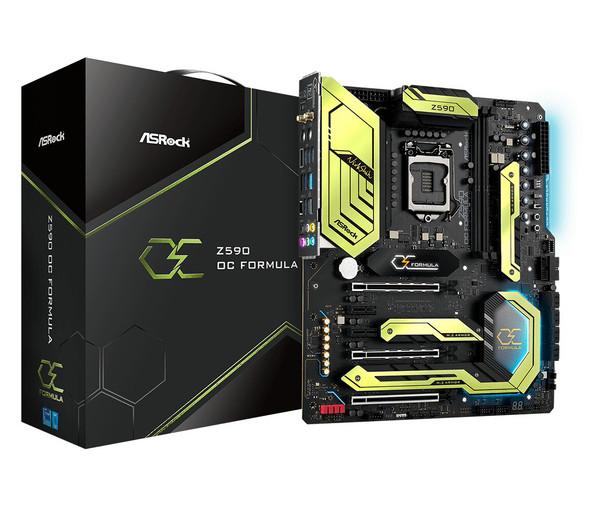 ASRock Z590 OC Formula LGA 1200 Intel Z590 SATA 6Gb/s Extended ATX Intel Motherboard