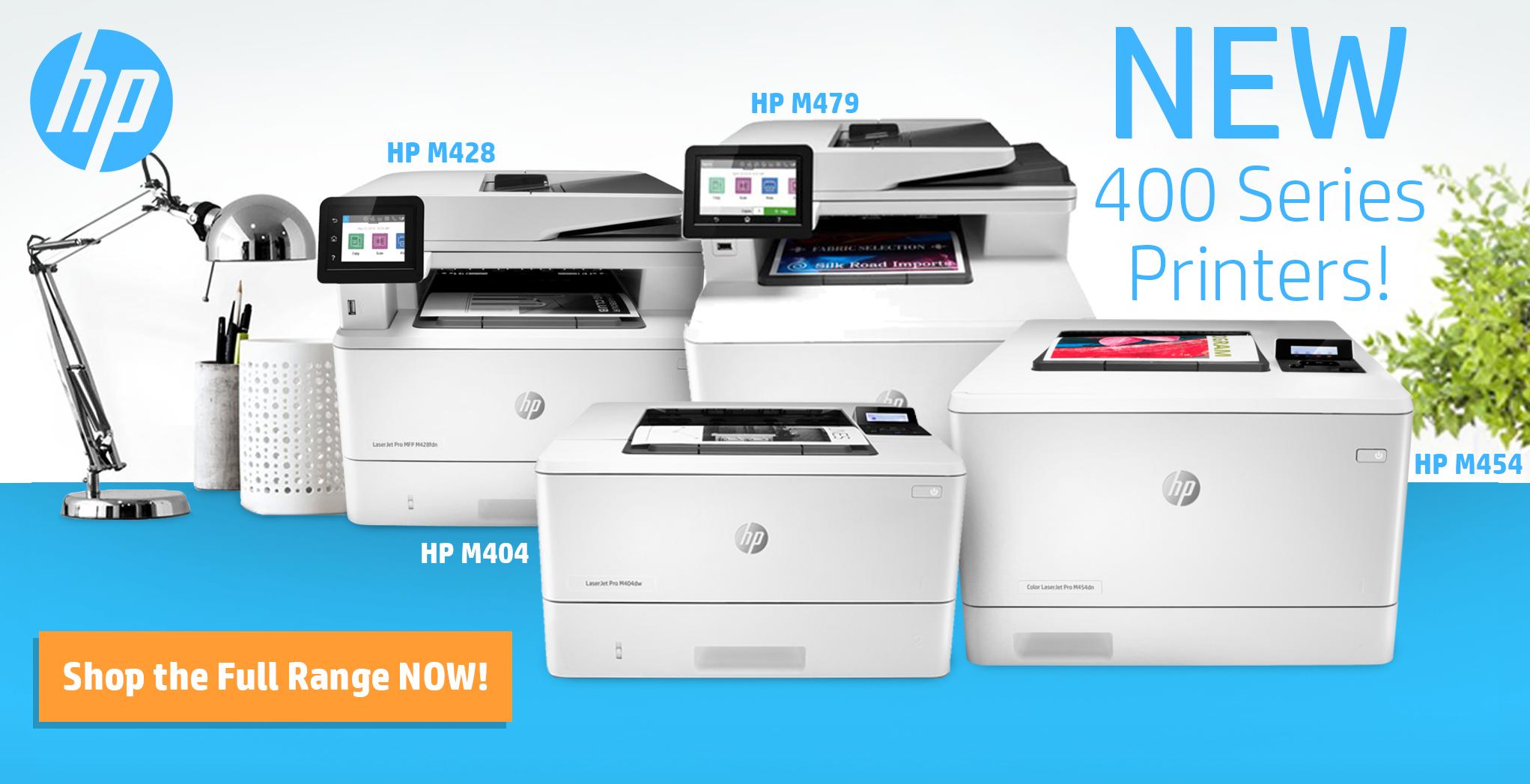 New HP 400 Series Printers