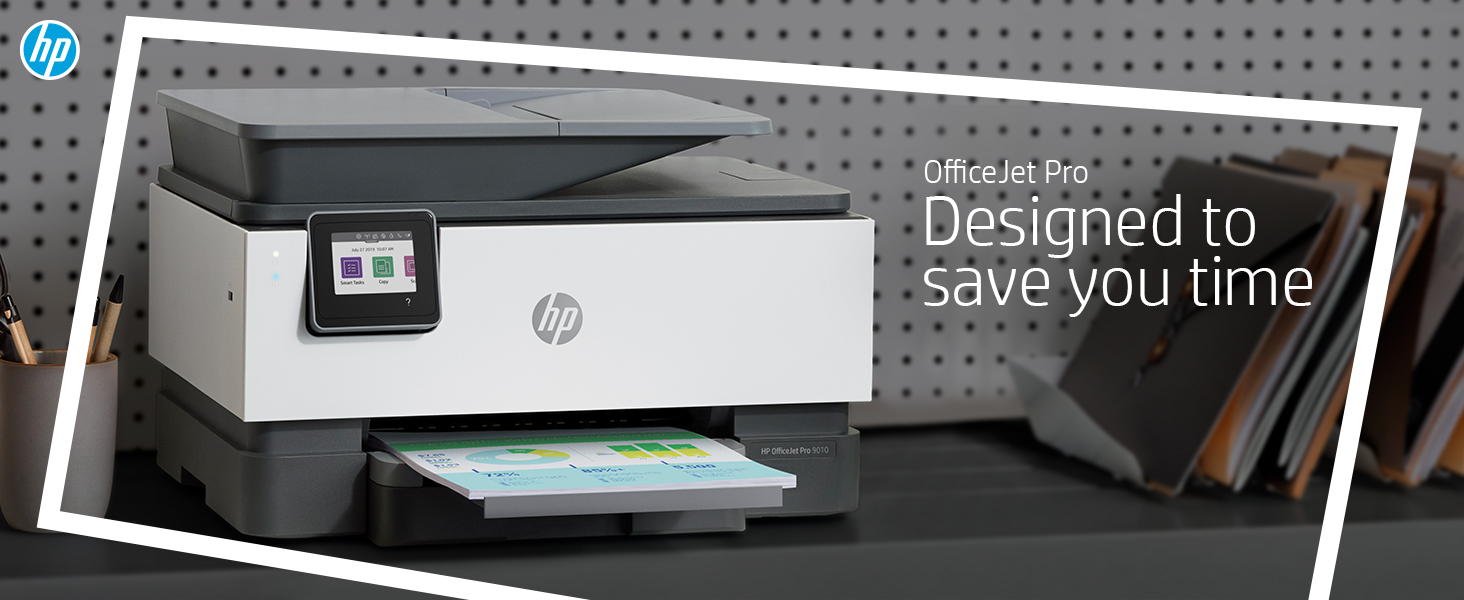 HP OfficeJet Pro 9010: Designed to save you time