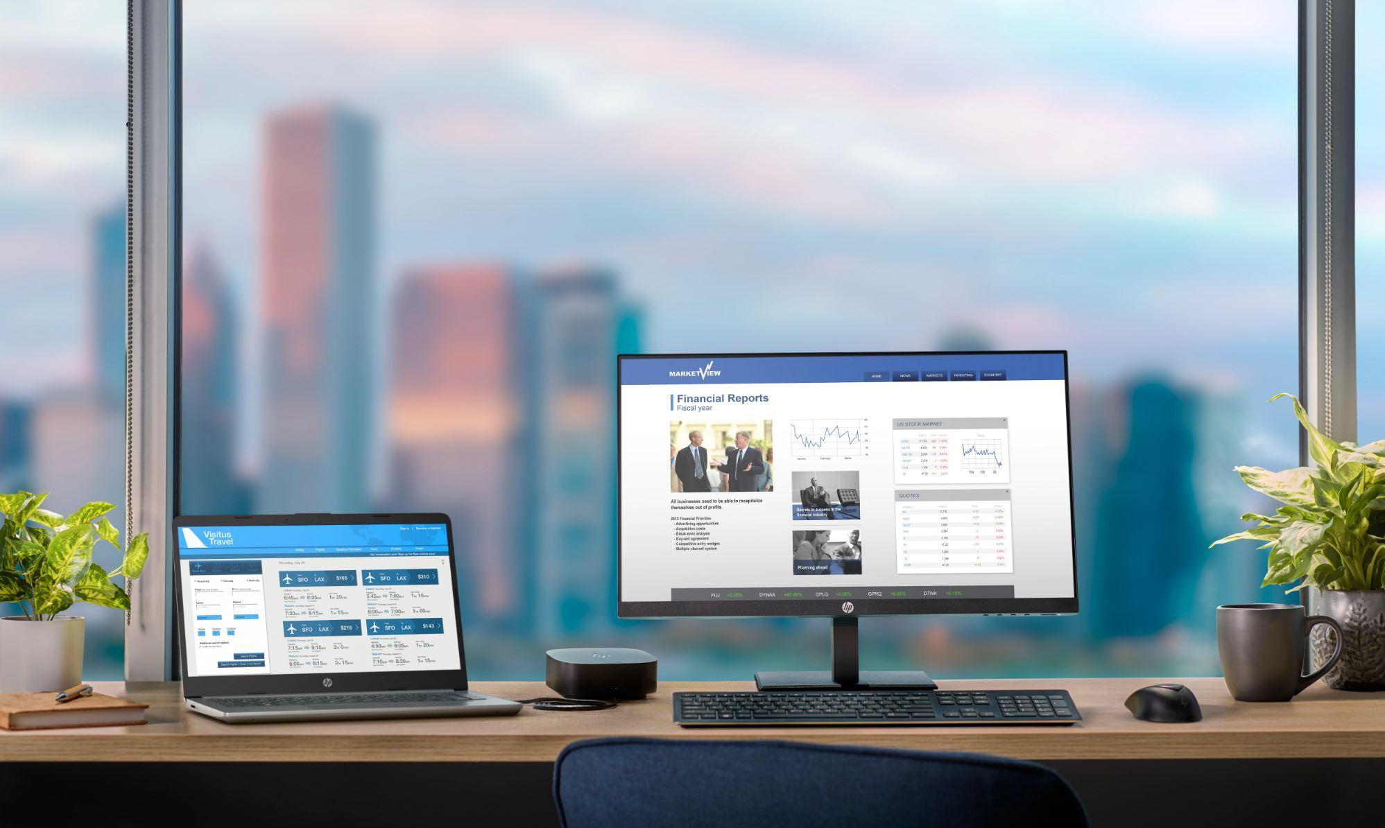 HP P244 Monitor Lifestyle