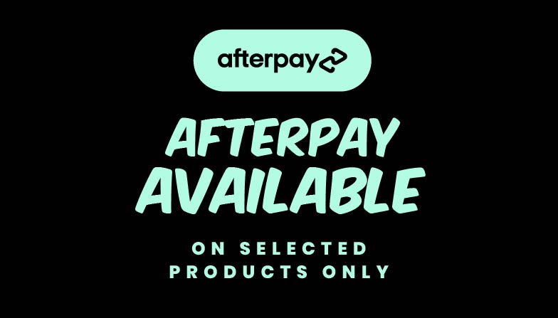 Afterpay is Avaliable at MediaForm: On Selected Products