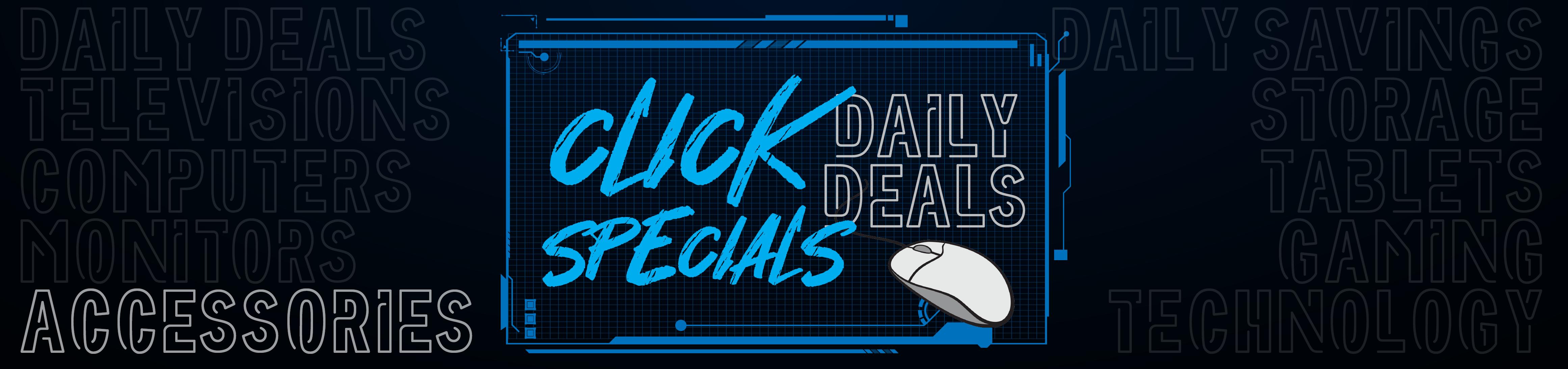 Click Specials - Accessories