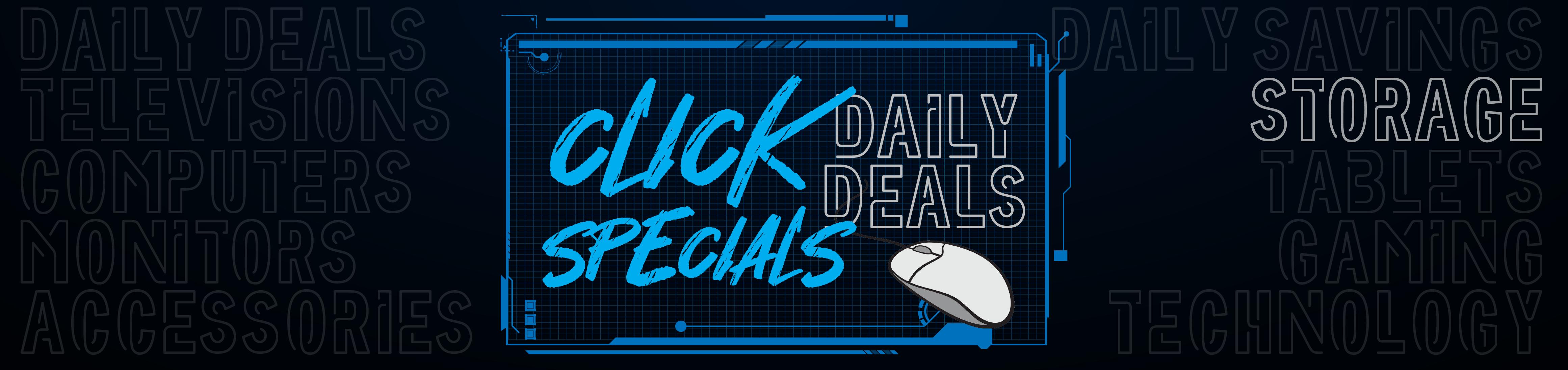 Click Specials - Storage