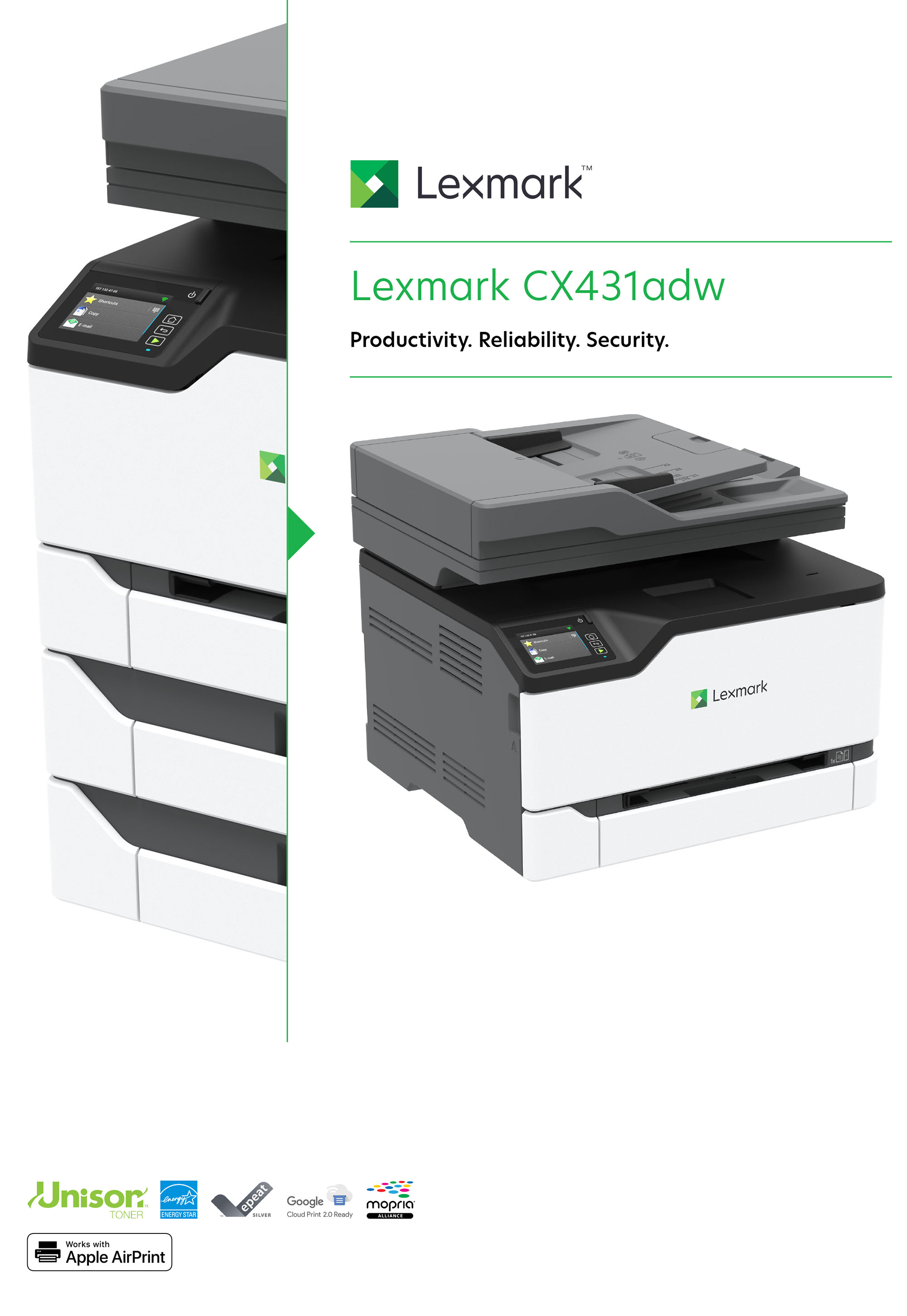 Lexmark CX431adw