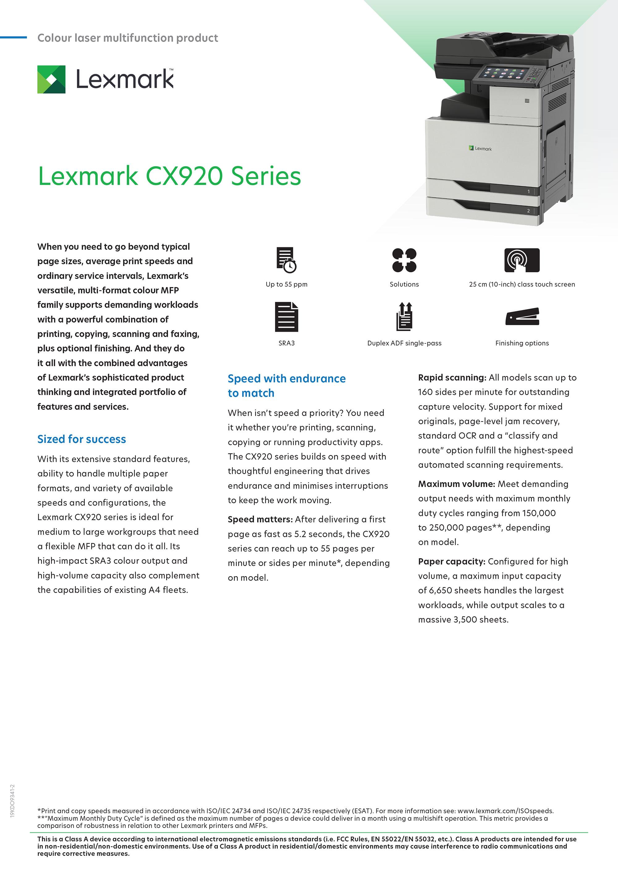 Lexmark CX920