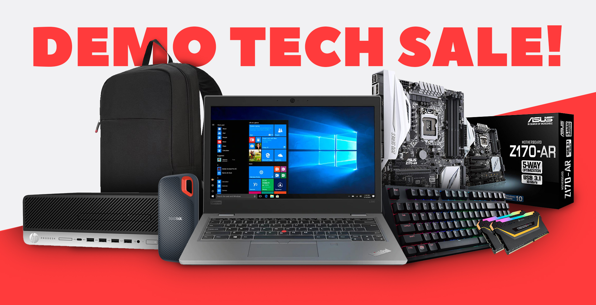 Demo Tech Products Sale