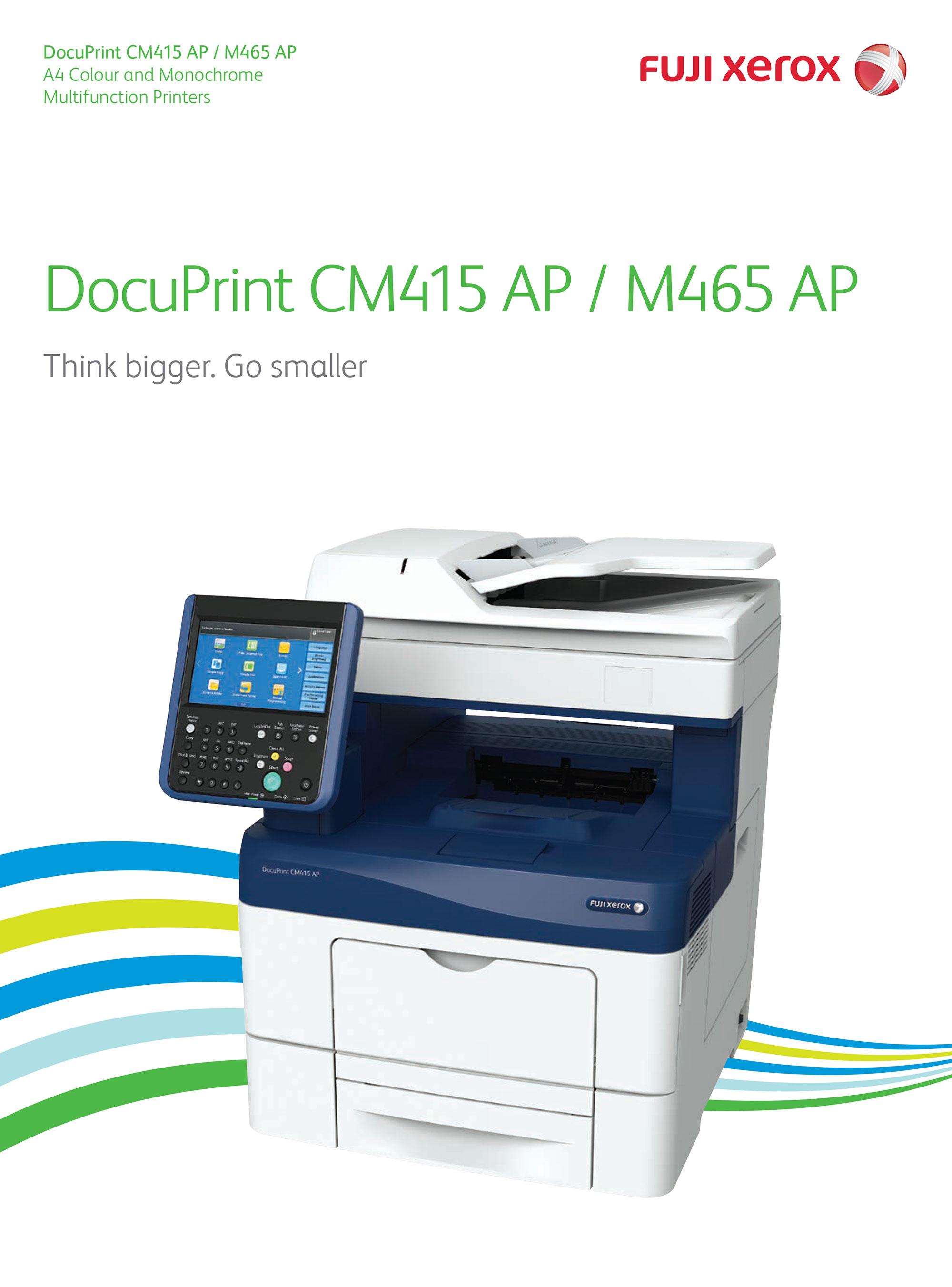 Fuji Xerox DocuPrint M465 AP