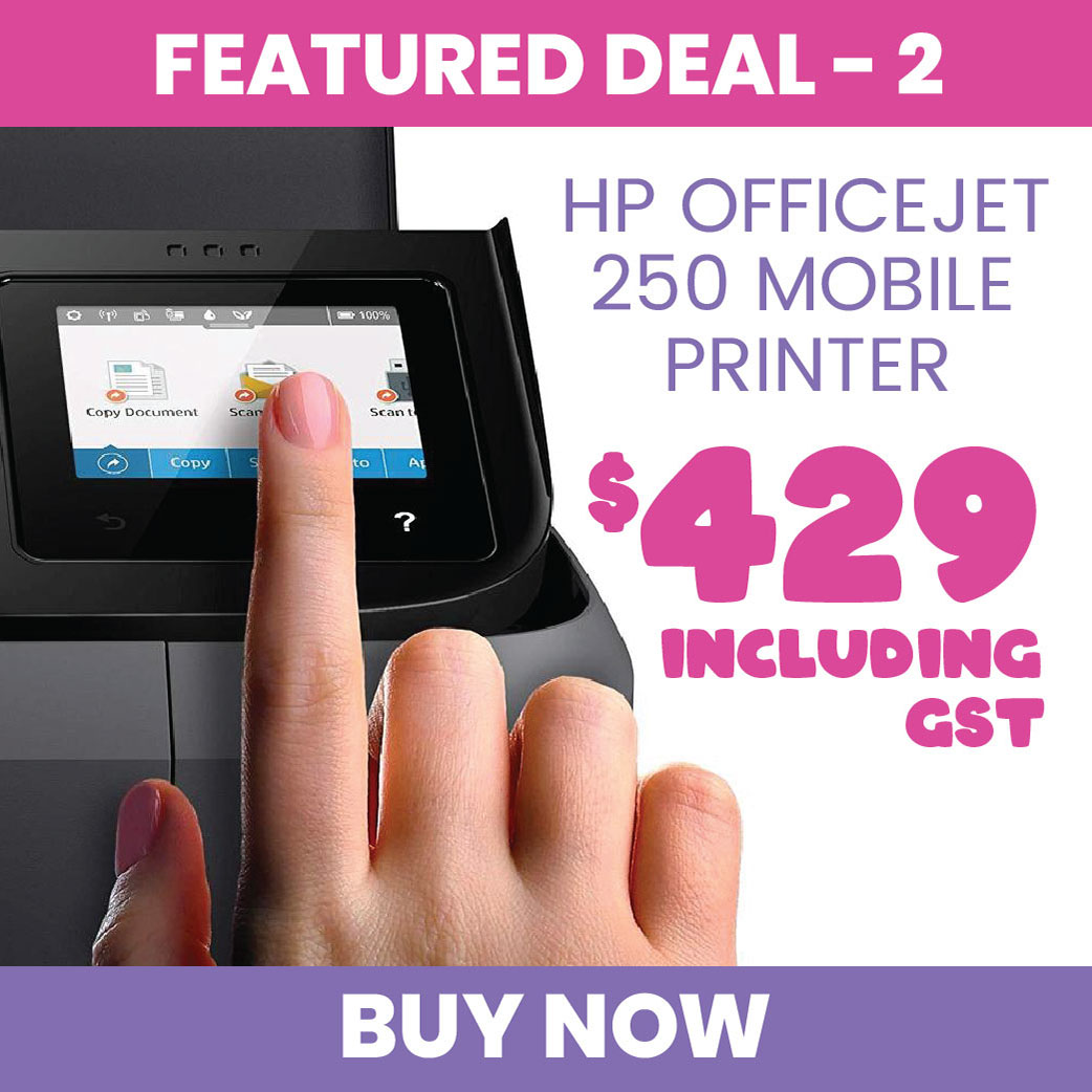 Featured Deal 2: HP OfficeJet 250 Mobile Printer