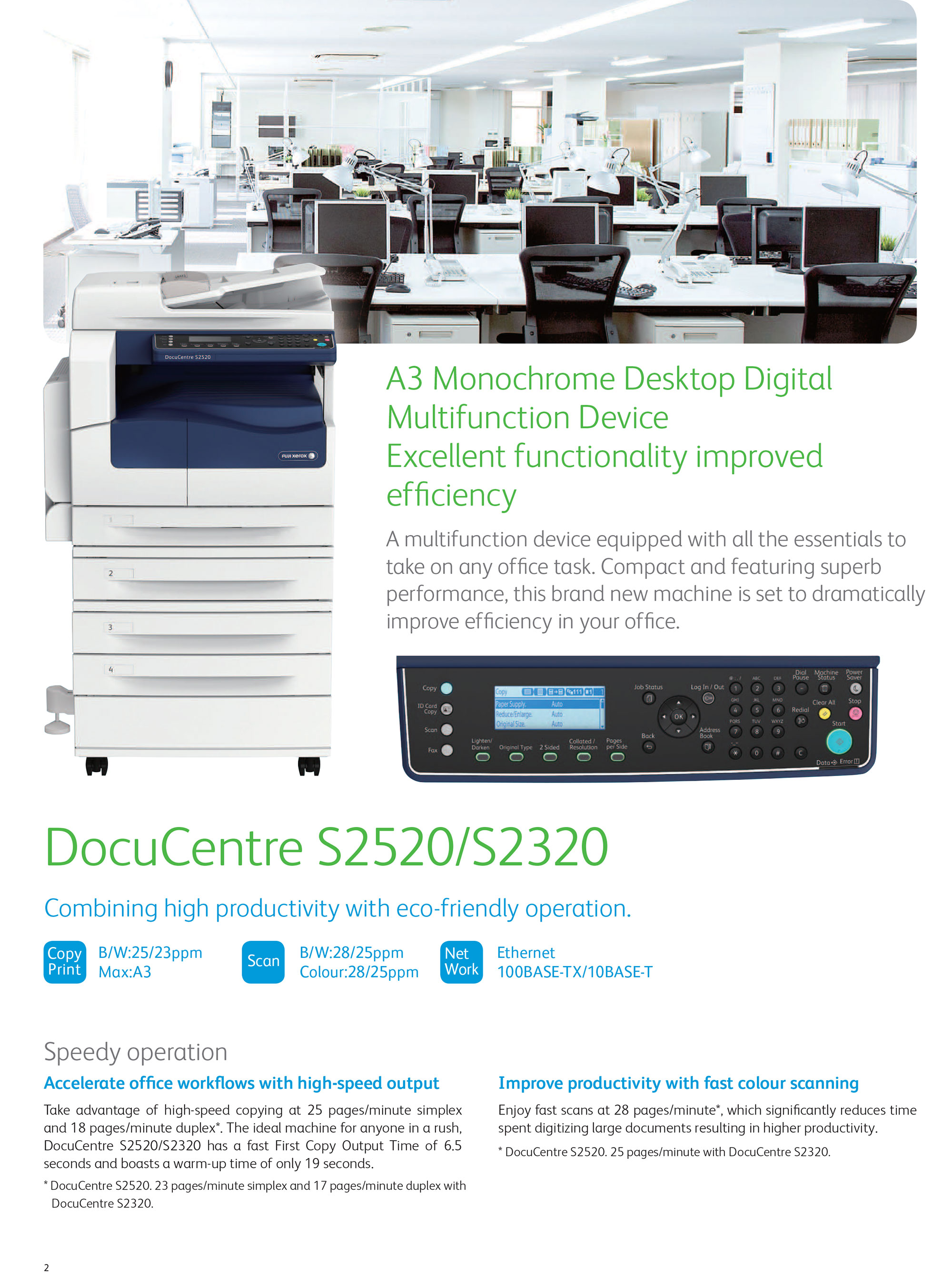 DocuCentre S2520/2320