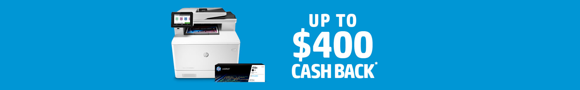 HP Back to Work Cash Back