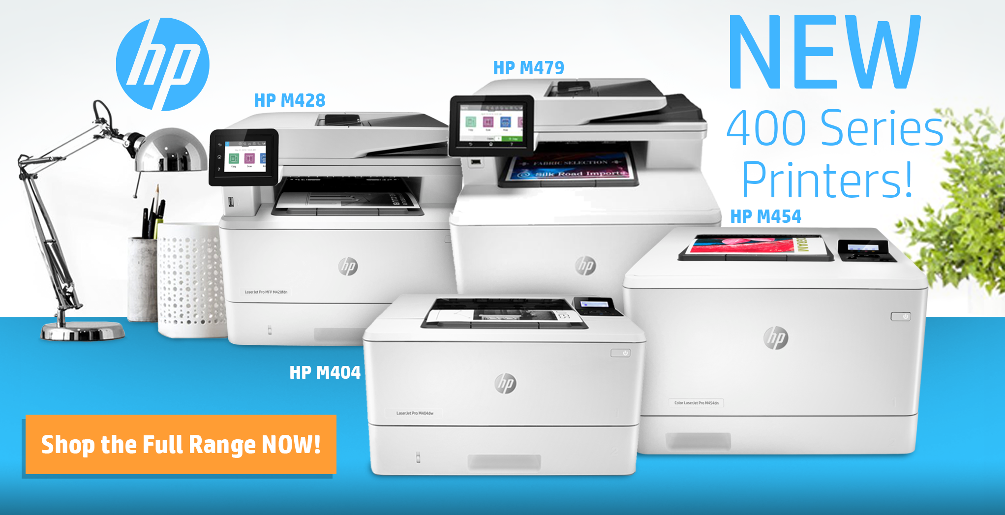 HP New 400 Series printers