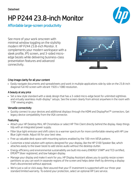 HP P244 Monitor