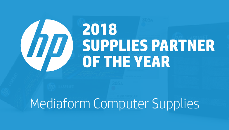HP Supplies Partner of the Year - 2018
