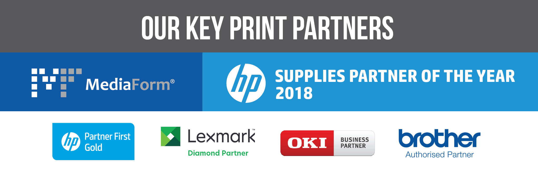 Our Key Print Partners