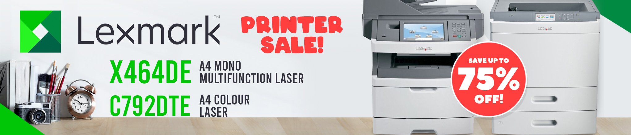 Lexmark C792 & X464 Printer Sale - Save up to 75%