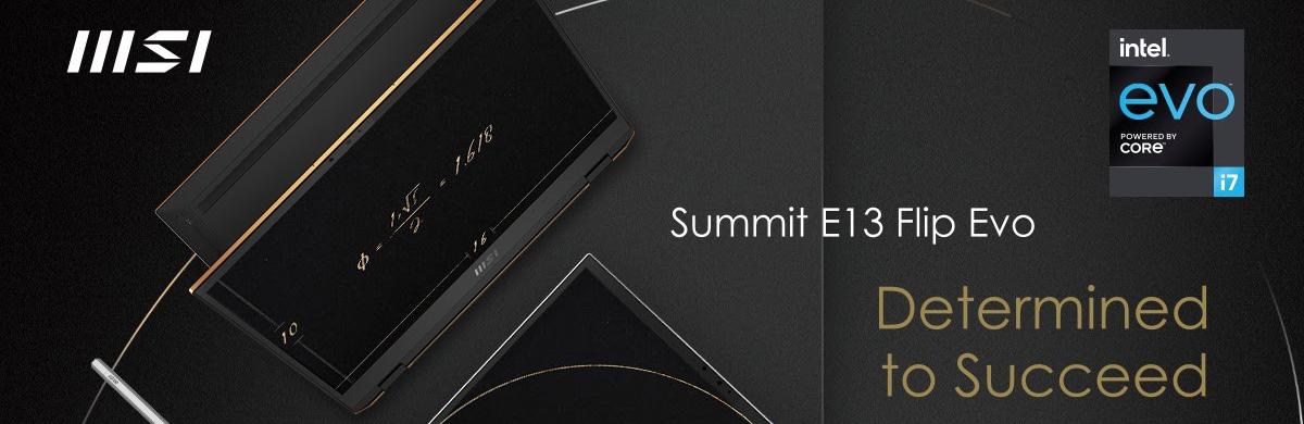 MSI Summit E13 Flip EVO: Determined to Succeed
