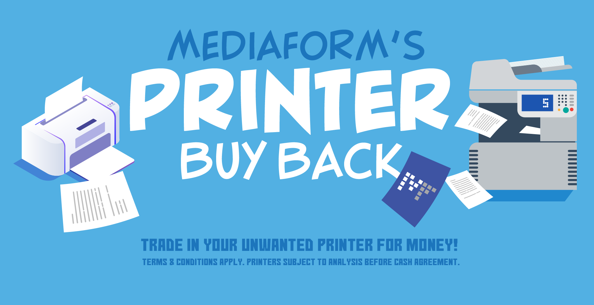 MediaForm's Printer Buy Back