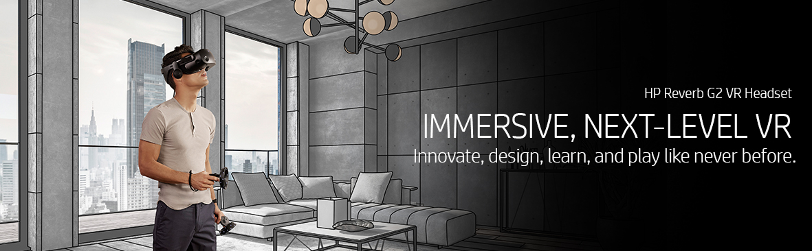 HP Reverb G2 Headset: Immersive Next-Level VR